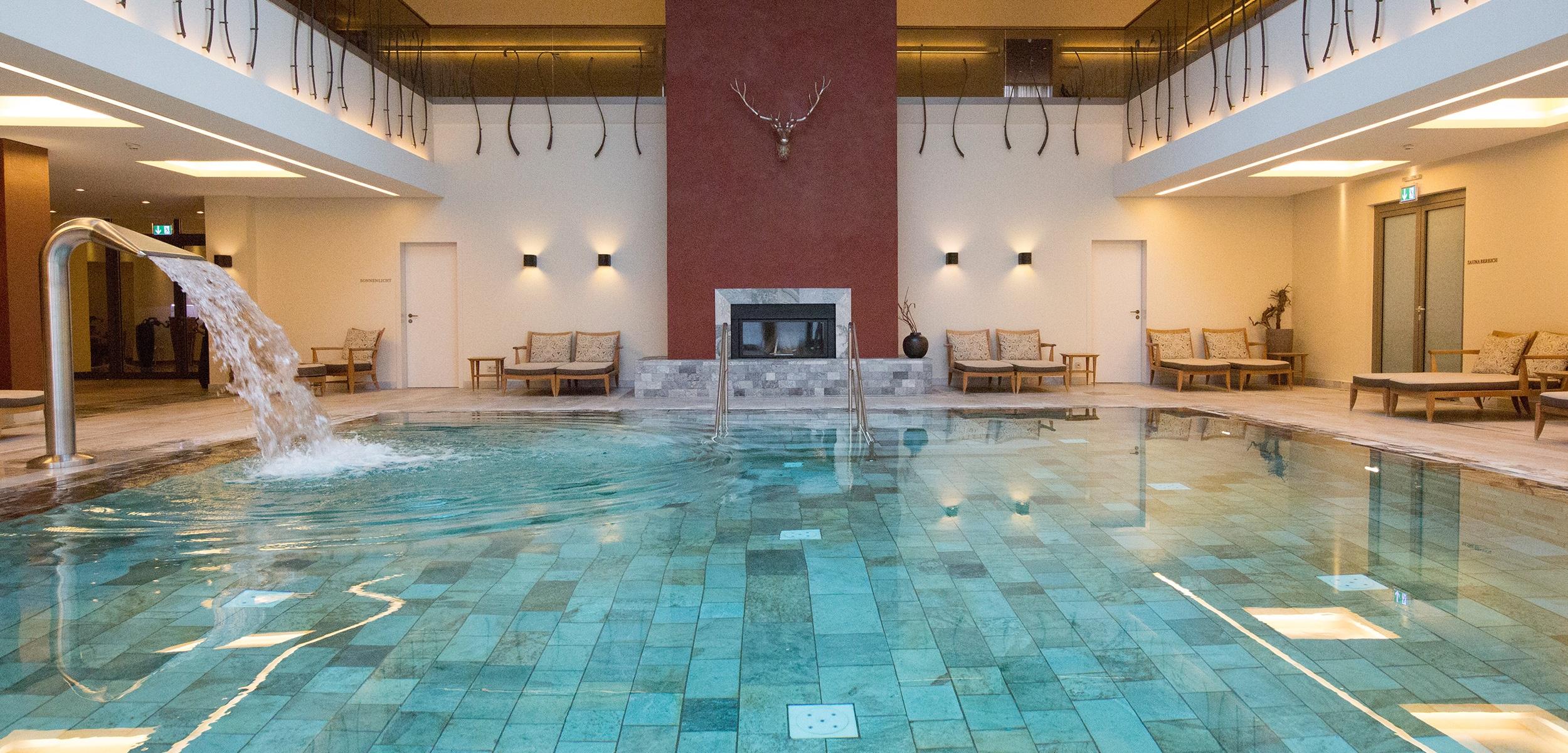 Pool in Spawelt Friedrichsruhe