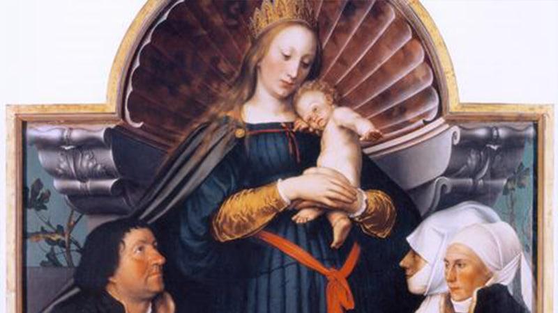 Madonna Malerei