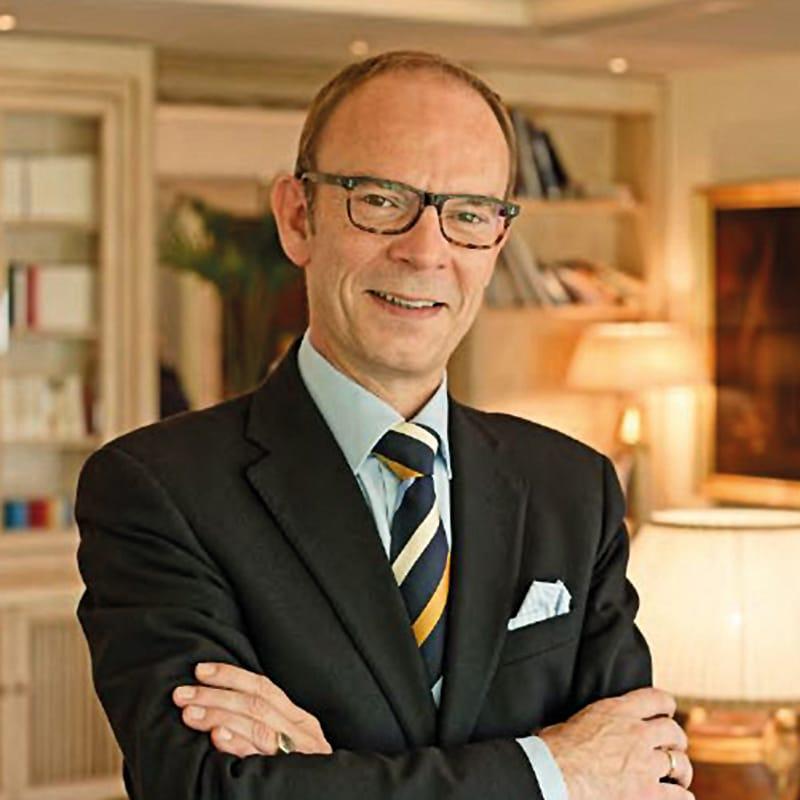 Hoteldirektor Jürgen Wegmann