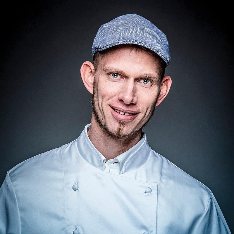 Küchenchef Boris Rommel