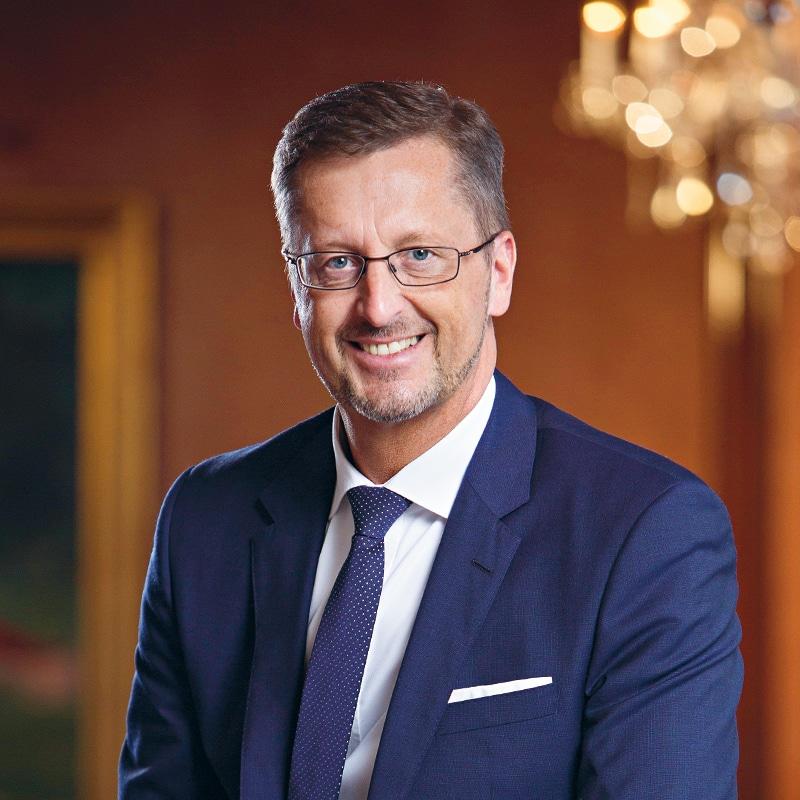 stellvertretender Hoteldirektor Dominique Metzger