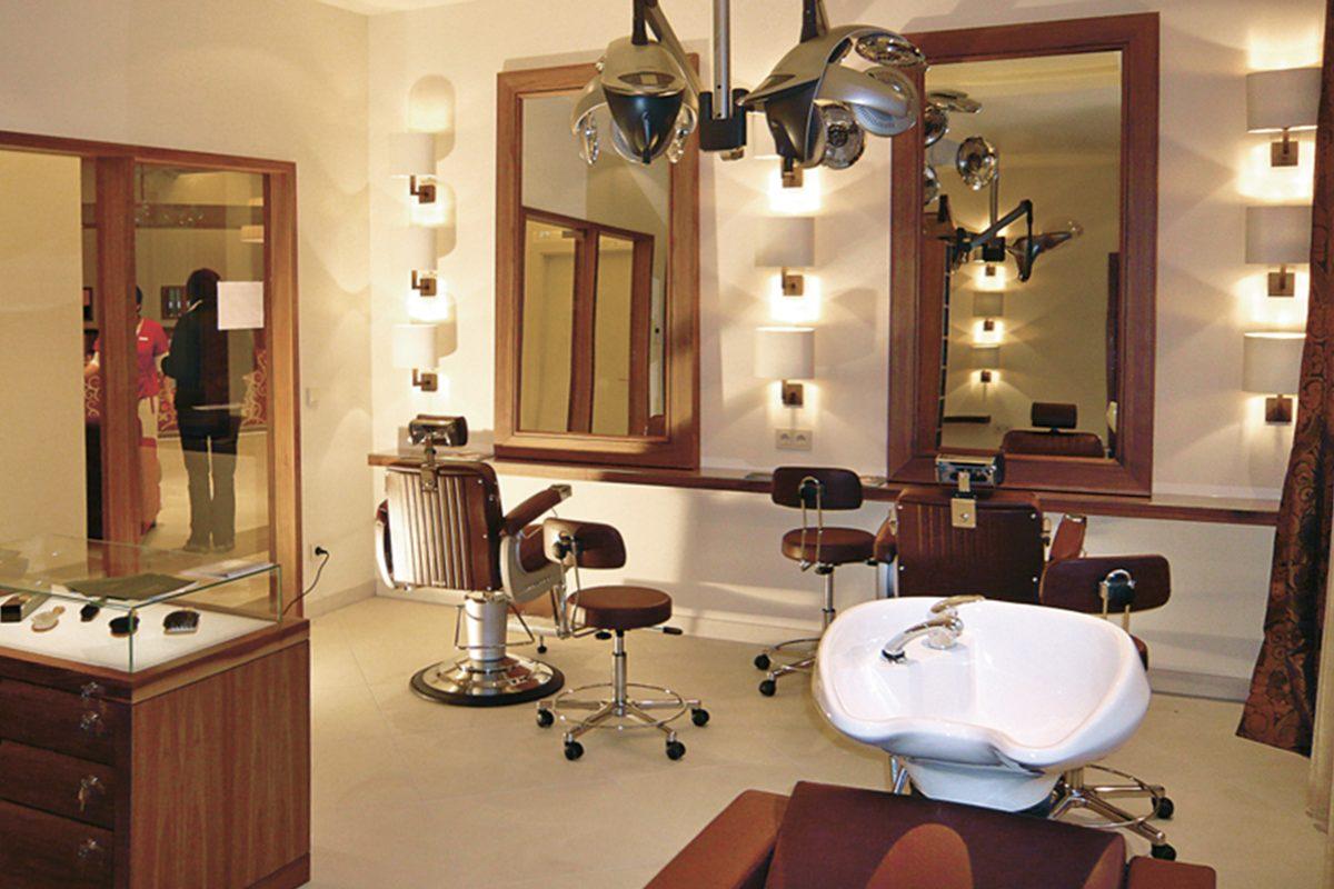 Friseursalon im Hotel Friedrichsruhe