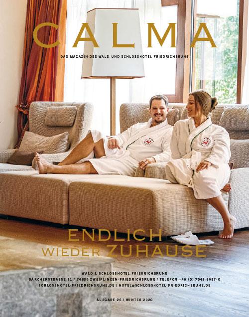 Magazin Calma-Cover Ruhebereich