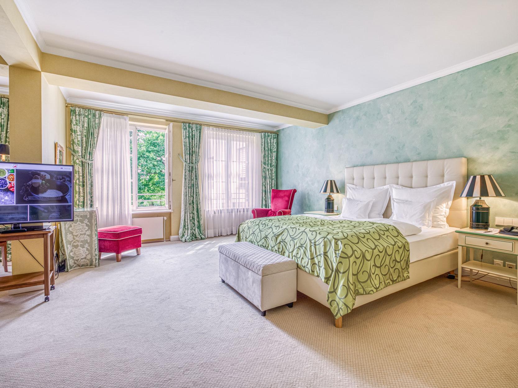 Grünes Doppelzimmer Wald & Schlosshotel Friedrichsruhe