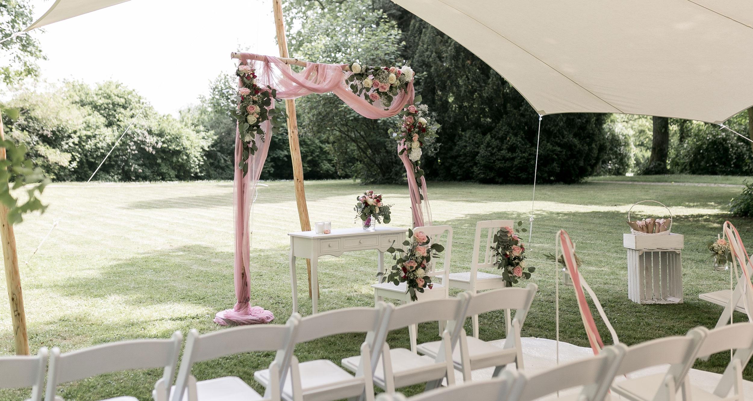 Schlosspark Hochzeit